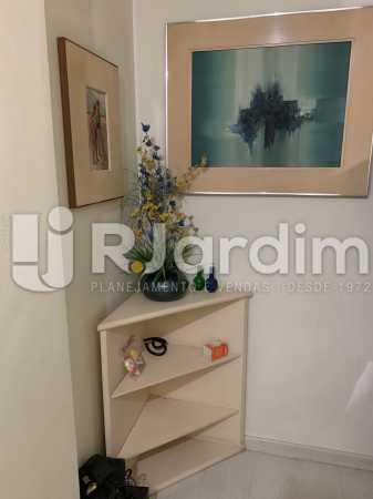 Corredor  - Apartamento à venda Rua General Rabelo,Gávea, Zona Sul,Rio de Janeiro - R$ 2.400.000 - LAAP21564 - 17