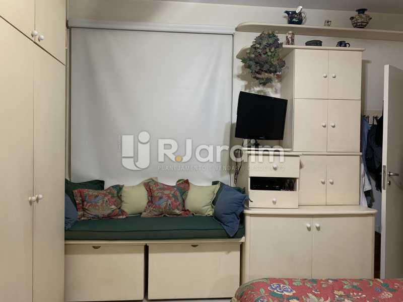 Quarto de casal - Apartamento à venda Rua General Rabelo,Gávea, Zona Sul,Rio de Janeiro - R$ 2.400.000 - LAAP21564 - 20