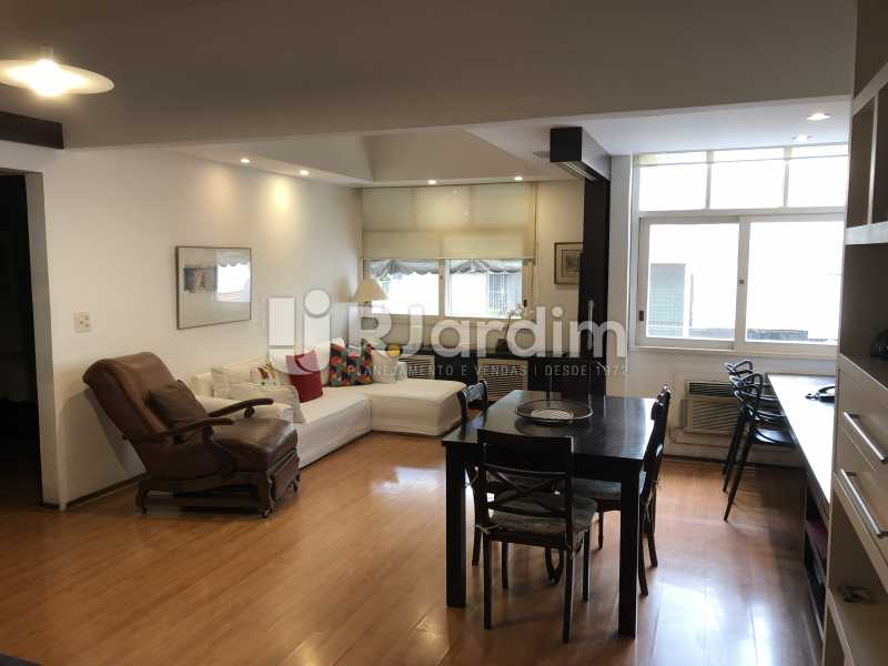 Sala - Apartamento à venda Rua General Rabelo,Gávea, Zona Sul,Rio de Janeiro - R$ 1.380.000 - LAAP21571 - 1