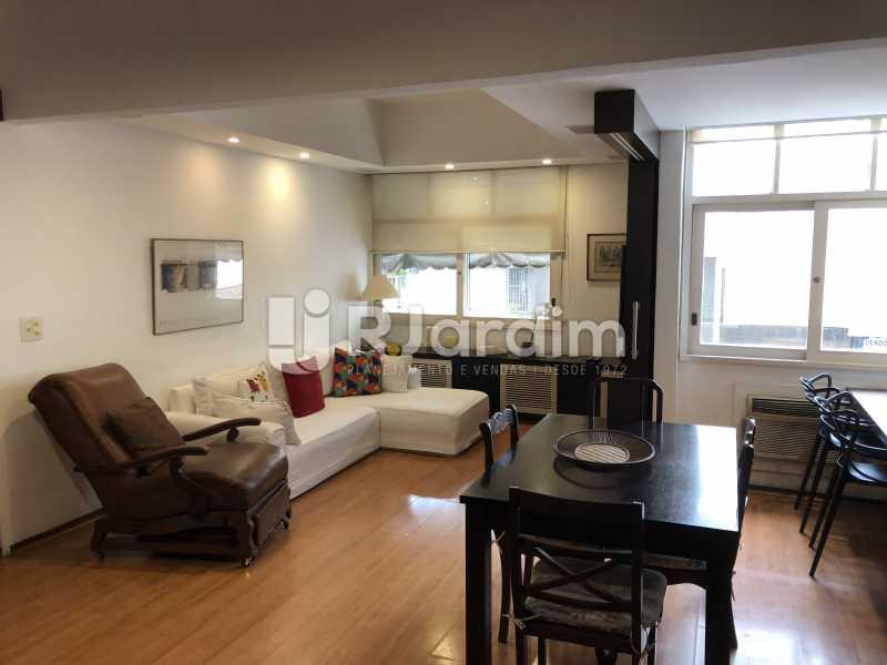 Sala - Apartamento à venda Rua General Rabelo,Gávea, Zona Sul,Rio de Janeiro - R$ 1.380.000 - LAAP21571 - 10
