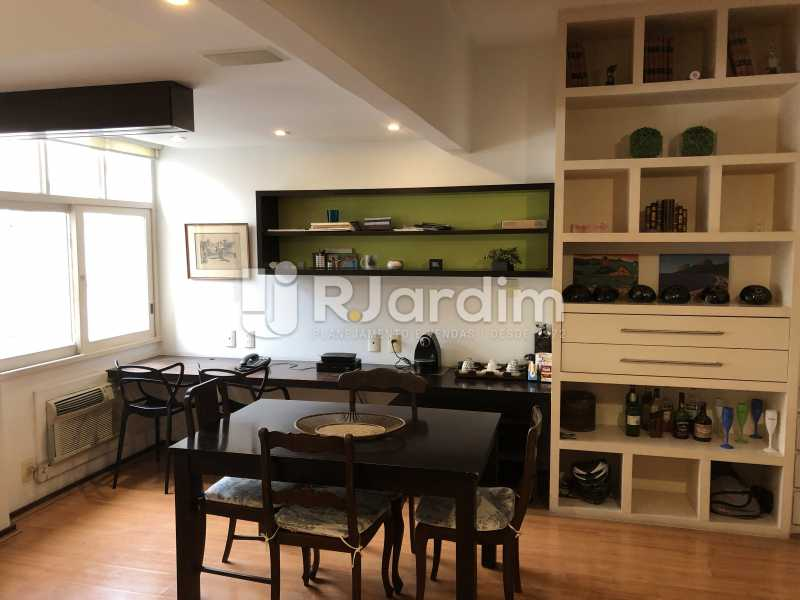Sala - Apartamento à venda Rua General Rabelo,Gávea, Zona Sul,Rio de Janeiro - R$ 1.380.000 - LAAP21571 - 6