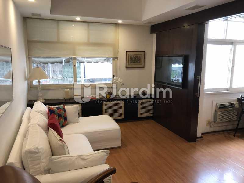 Sala - Apartamento à venda Rua General Rabelo,Gávea, Zona Sul,Rio de Janeiro - R$ 1.380.000 - LAAP21571 - 4