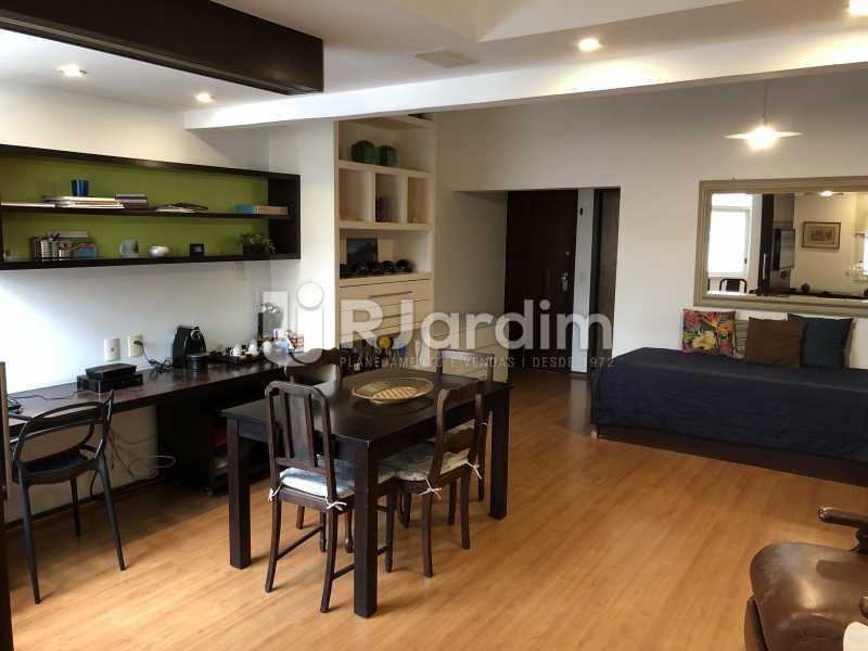 Sala - Apartamento à venda Rua General Rabelo,Gávea, Zona Sul,Rio de Janeiro - R$ 1.380.000 - LAAP21571 - 3
