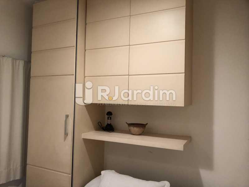 Quarto - Apartamento à venda Rua General Rabelo,Gávea, Zona Sul,Rio de Janeiro - R$ 1.380.000 - LAAP21571 - 21