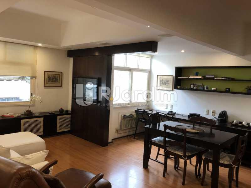 Sala - Apartamento à venda Rua General Rabelo,Gávea, Zona Sul,Rio de Janeiro - R$ 1.380.000 - LAAP21571 - 8
