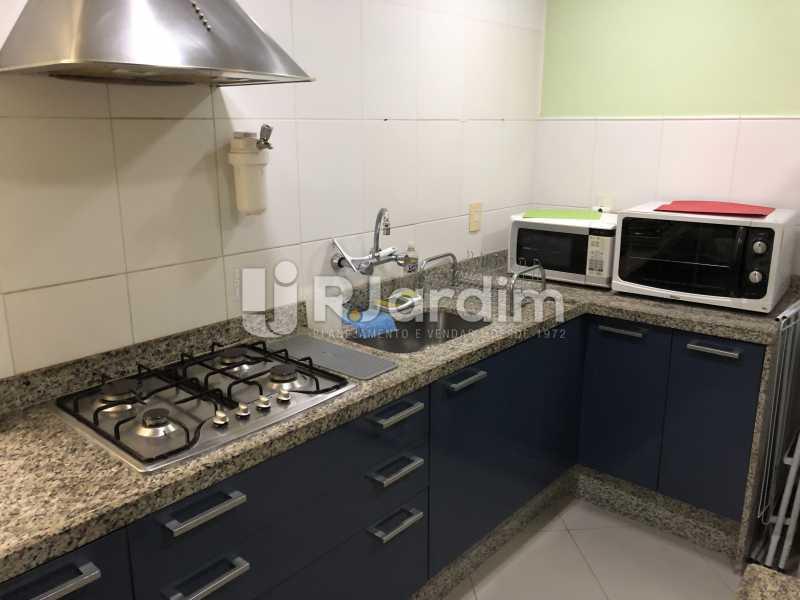 Cozinha - Apartamento à venda Rua General Rabelo,Gávea, Zona Sul,Rio de Janeiro - R$ 1.380.000 - LAAP21571 - 25