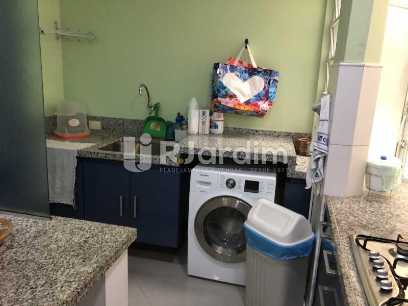 Área de serviço - Apartamento à venda Rua General Rabelo,Gávea, Zona Sul,Rio de Janeiro - R$ 1.380.000 - LAAP21571 - 28