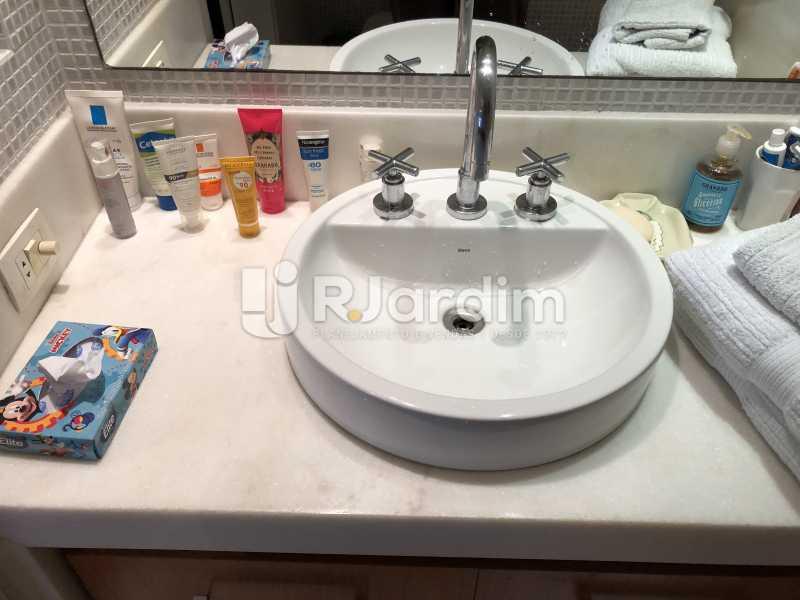 Banheiro social - Apartamento à venda Rua General Rabelo,Gávea, Zona Sul,Rio de Janeiro - R$ 1.380.000 - LAAP21571 - 22