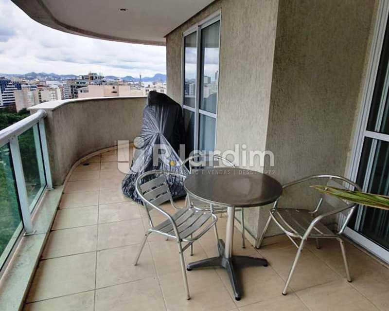 Varanda  - Apartamento À Venda - Laranjeiras - Rio de Janeiro - RJ - LAAP32192 - 6