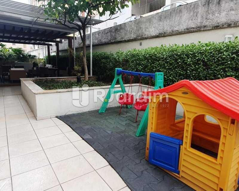 Area de lazer - Apartamento À Venda - Laranjeiras - Rio de Janeiro - RJ - LAAP32192 - 21