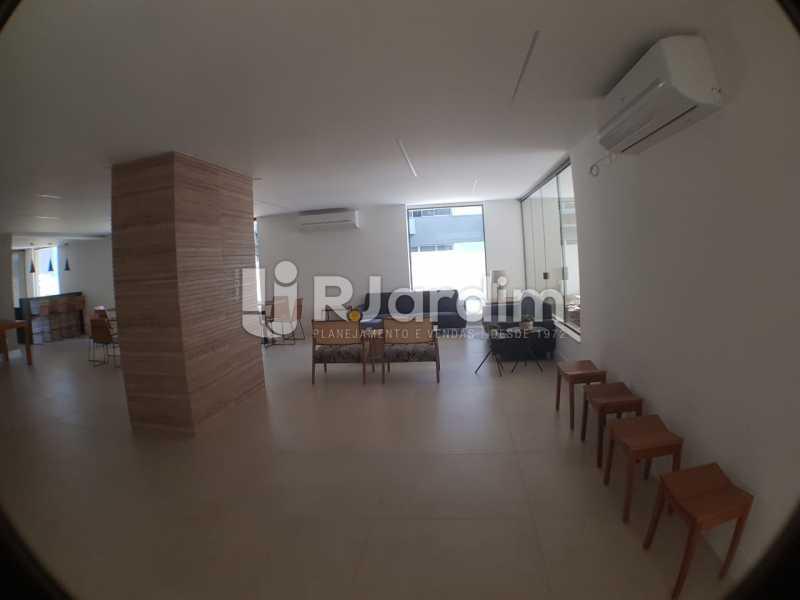 Portaria 2 - Apartamento à venda Avenida Lineu de Paula Machado,Jardim Botânico, Zona Sul,Rio de Janeiro - R$ 2.380.000 - LAAP32193 - 21