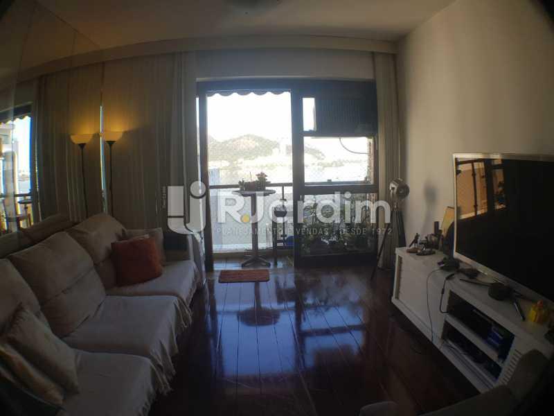 Sala - Apartamento à venda Avenida Lineu de Paula Machado,Jardim Botânico, Zona Sul,Rio de Janeiro - R$ 2.380.000 - LAAP32193 - 3