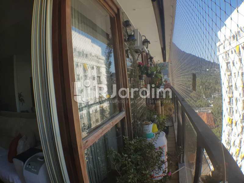 Varanda - Apartamento à venda Avenida Lineu de Paula Machado,Jardim Botânico, Zona Sul,Rio de Janeiro - R$ 2.380.000 - LAAP32193 - 14