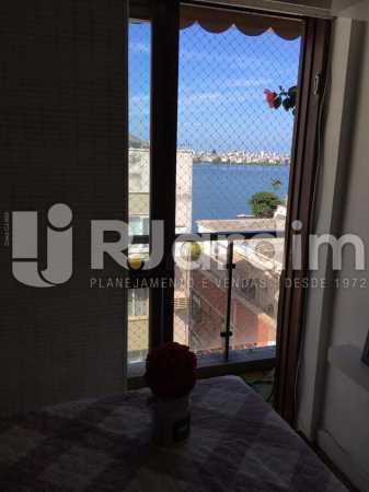 Sala (parte) - Apartamento à venda Avenida Lineu de Paula Machado,Jardim Botânico, Zona Sul,Rio de Janeiro - R$ 2.380.000 - LAAP32193 - 6