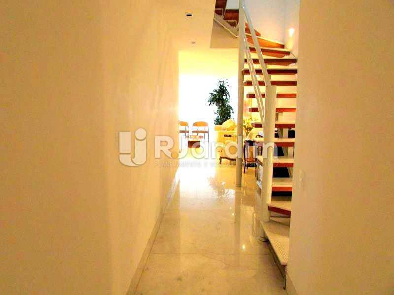 HALL DE ENTRADA - Cobertura À Venda Rua Prudente de Morais,Ipanema, Zona Sul,Rio de Janeiro - R$ 3.890.000 - LACO20110 - 8