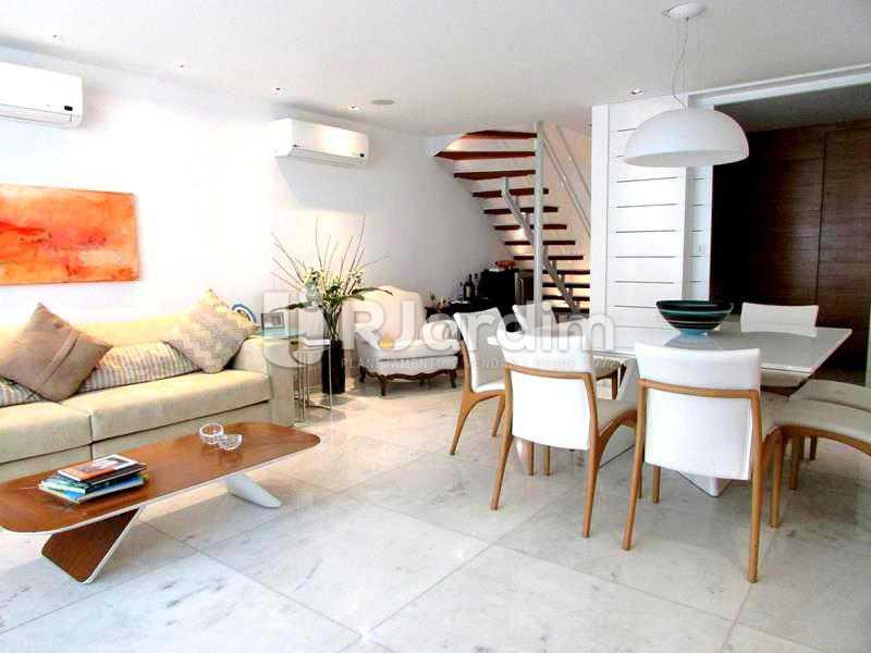 SALA - Cobertura À Venda Rua Prudente de Morais,Ipanema, Zona Sul,Rio de Janeiro - R$ 3.890.000 - LACO20110 - 3