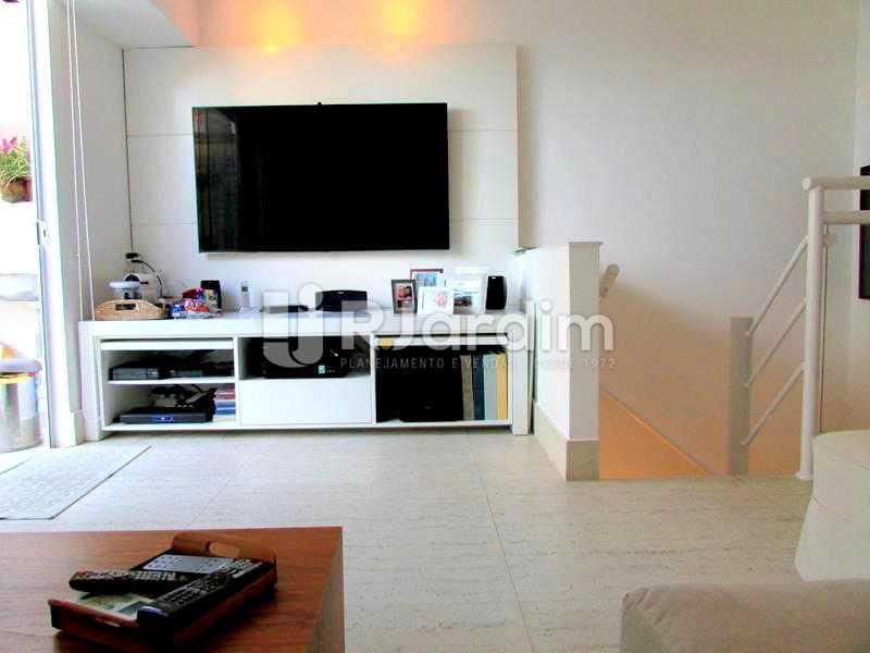 SALA - Cobertura À Venda Rua Prudente de Morais,Ipanema, Zona Sul,Rio de Janeiro - R$ 3.890.000 - LACO20110 - 13