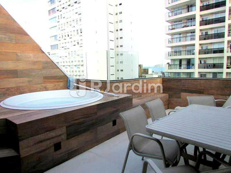 Varandão  - Cobertura À Venda Rua Prudente de Morais,Ipanema, Zona Sul,Rio de Janeiro - R$ 3.890.000 - LACO20110 - 11