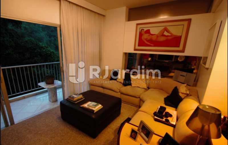 sala  - Apartamento À Venda Avenida Epitácio Pessoa,Lagoa, Zona Sul,Rio de Janeiro - R$ 1.300.000 - LAAP10392 - 10