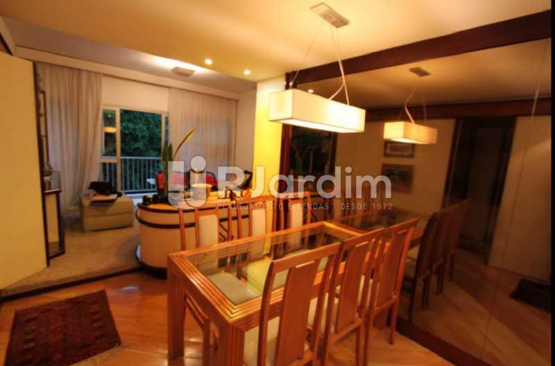 sala - Apartamento À Venda Avenida Epitácio Pessoa,Lagoa, Zona Sul,Rio de Janeiro - R$ 1.300.000 - LAAP10392 - 13