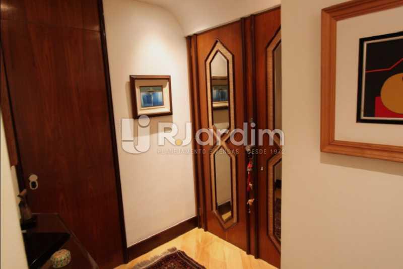 entrada social  - Apartamento À Venda Avenida Epitácio Pessoa,Lagoa, Zona Sul,Rio de Janeiro - R$ 1.300.000 - LAAP10392 - 6