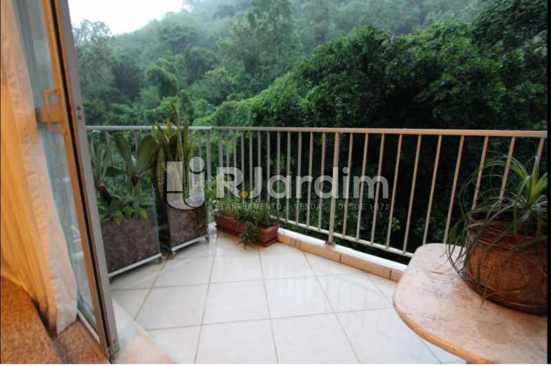 varanda / vista verde  - Apartamento À Venda Avenida Epitácio Pessoa,Lagoa, Zona Sul,Rio de Janeiro - R$ 1.300.000 - LAAP10392 - 9