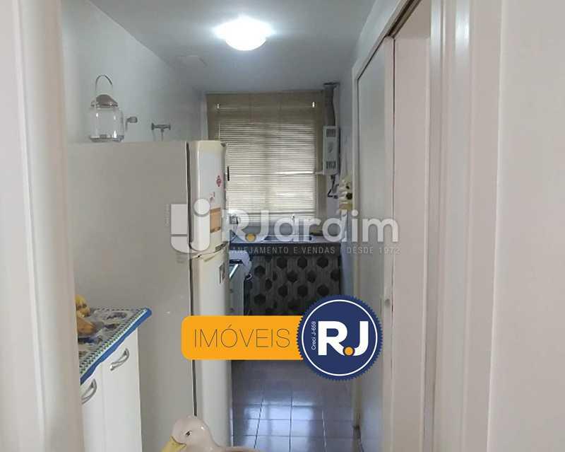 Cozinha/área de serviço - Flat Rua Professor Azevedo Marques,Leblon, Zona Sul,Rio de Janeiro, RJ À Venda, 1 Quarto, 56m² - LAFL10100 - 17