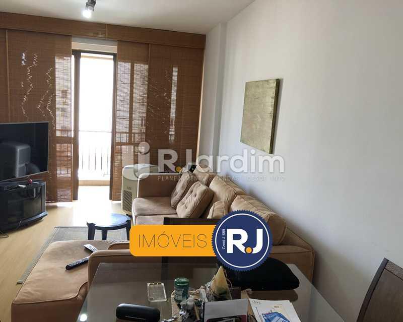 Sala  - Flat Rua Professor Azevedo Marques,Leblon, Zona Sul,Rio de Janeiro, RJ À Venda, 1 Quarto, 56m² - LAFL10100 - 11