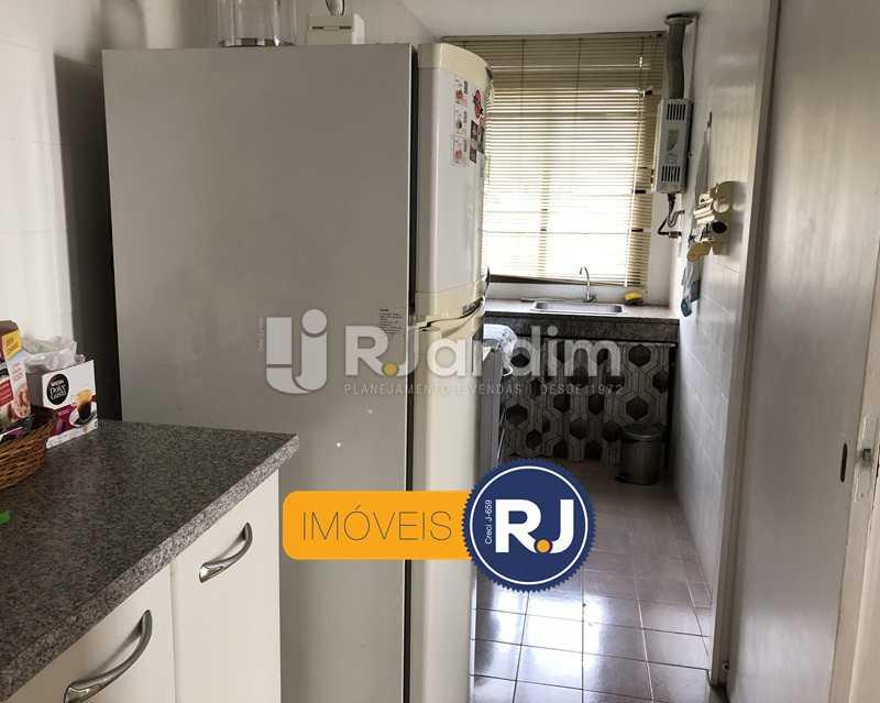 Cozinha/área de serviço - Flat Rua Professor Azevedo Marques,Leblon, Zona Sul,Rio de Janeiro, RJ À Venda, 1 Quarto, 56m² - LAFL10100 - 20
