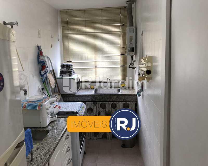 Cozinha/área de serviço - Flat Rua Professor Azevedo Marques,Leblon, Zona Sul,Rio de Janeiro, RJ À Venda, 1 Quarto, 56m² - LAFL10100 - 21