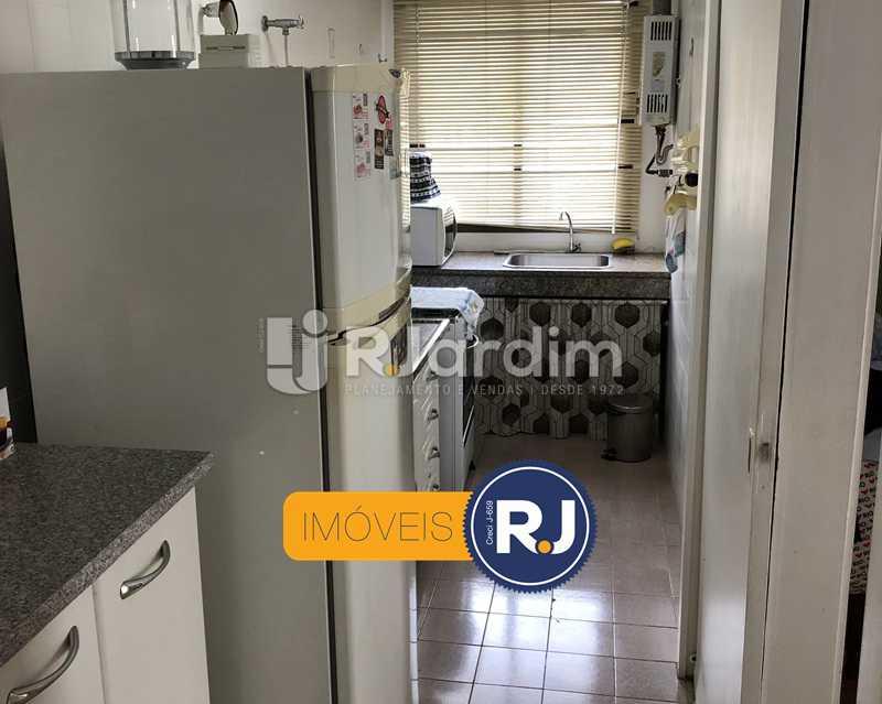 Cozinha/área de serviço - Flat Rua Professor Azevedo Marques,Leblon, Zona Sul,Rio de Janeiro, RJ À Venda, 1 Quarto, 56m² - LAFL10100 - 18