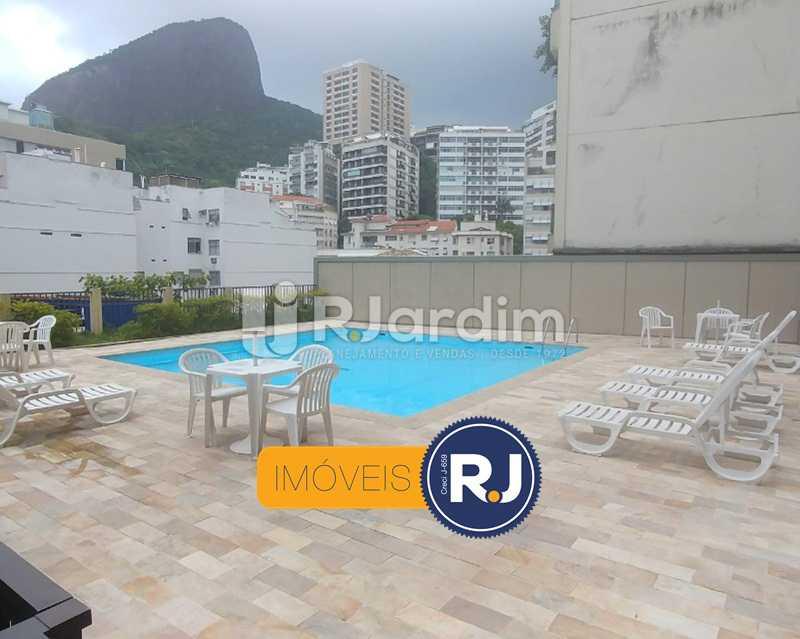 Piscina - Flat Rua Professor Azevedo Marques,Leblon, Zona Sul,Rio de Janeiro, RJ À Venda, 1 Quarto, 56m² - LAFL10100 - 10