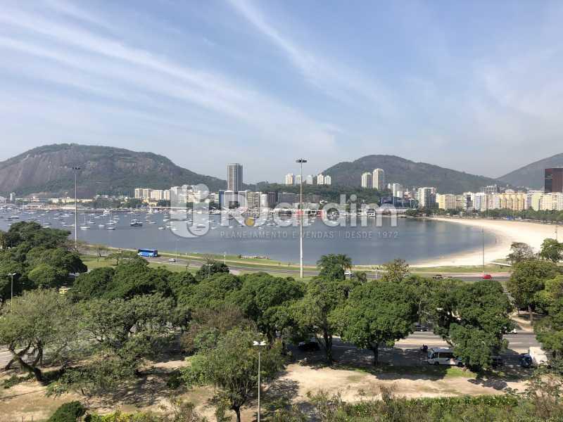 Vista da enseada - Apartamento à venda Praia de Botafogo,Botafogo, Zona Sul,Rio de Janeiro - R$ 2.200.000 - LAAP40808 - 1
