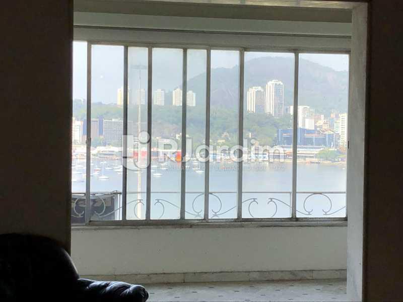 Salão/vista - Apartamento à venda Praia de Botafogo,Botafogo, Zona Sul,Rio de Janeiro - R$ 2.200.000 - LAAP40808 - 13