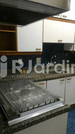 cozinha  - Apartamento Rua General Venâncio Flores,Leblon, Zona Sul,Rio de Janeiro, RJ Para Alugar, 2 Quartos, 110m² - LAAP21596 - 9
