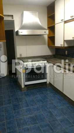 Cozinha  - Apartamento Rua General Venâncio Flores,Leblon, Zona Sul,Rio de Janeiro, RJ Para Alugar, 2 Quartos, 110m² - LAAP21596 - 10