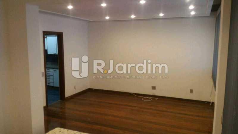 sala - Apartamento Rua General Venâncio Flores,Leblon, Zona Sul,Rio de Janeiro, RJ Para Alugar, 2 Quartos, 110m² - LAAP21596 - 1