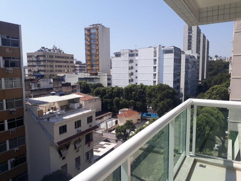 17 - varanda. - Apartamento Tijuca, Zona Norte - Grande Tijuca,Rio de Janeiro, RJ À Venda, 2 Quartos, 75m² - LAAP21597 - 19