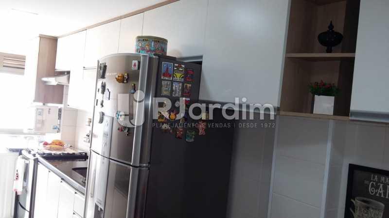 cozinha - Apartamento Botafogo 3 Quartos Garagem - LAAP32228 - 11