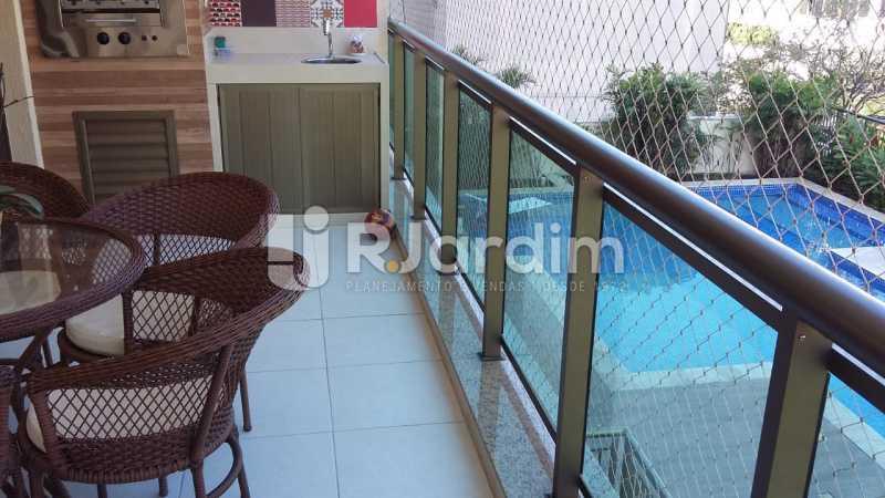 varanda - Apartamento Botafogo 3 Quartos Garagem - LAAP32228 - 4