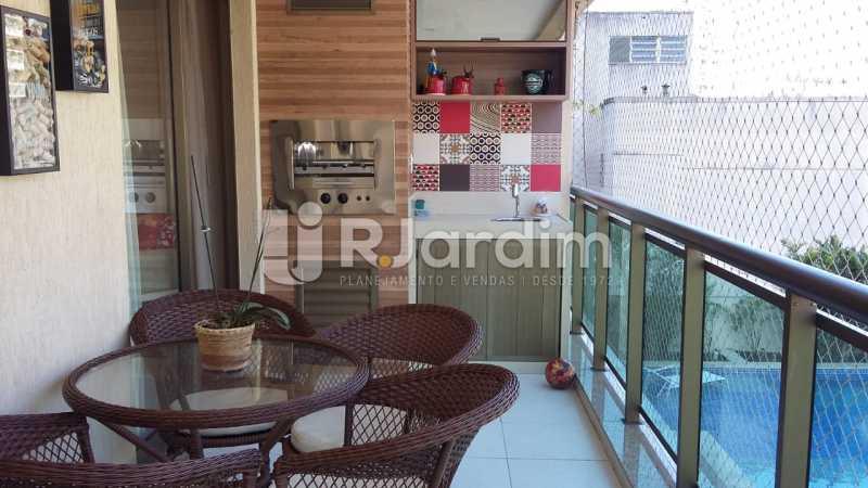 Varanda - Apartamento Botafogo 3 Quartos Garagem - LAAP32228 - 3