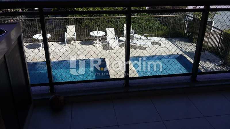 varanda  - Apartamento Botafogo 3 Quartos Garagem - LAAP32228 - 28