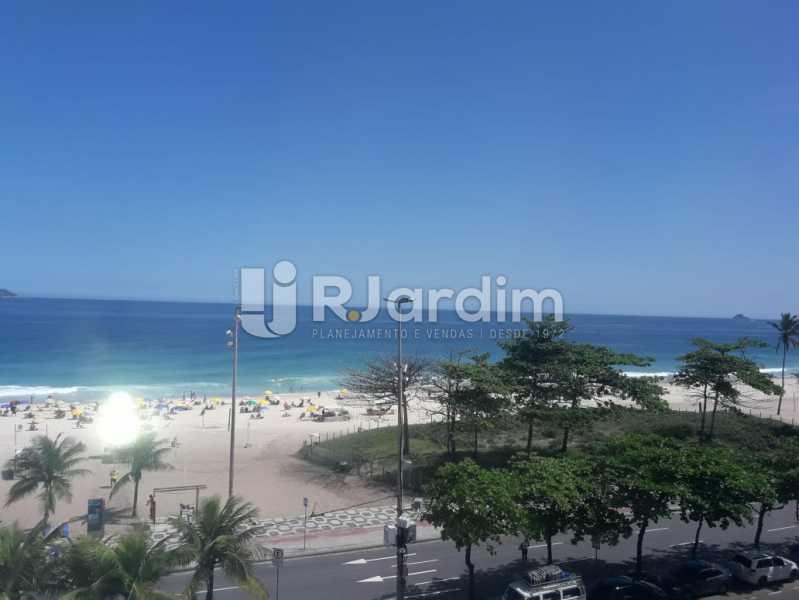 vista da sala - Apartamento Para Alugar - Ipanema - Rio de Janeiro - RJ - LAAP32235 - 4