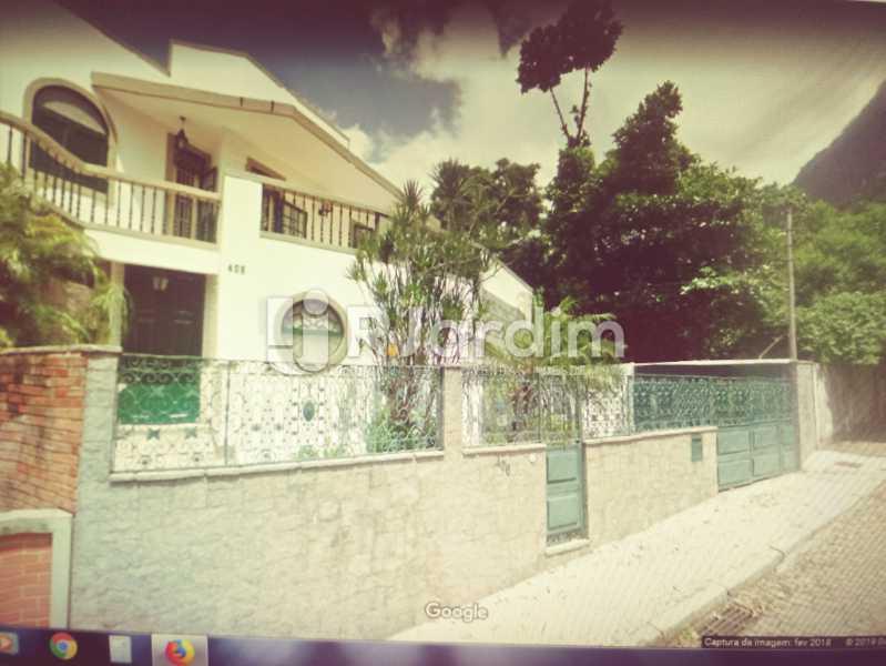 1 FACHADA DA CASA - Casa Rua Engenheiro Alfredo Duarte,Jardim Botânico, Zona Sul,Rio de Janeiro, RJ Para Alugar, 4 Quartos, 530m² - LACA40051 - 5