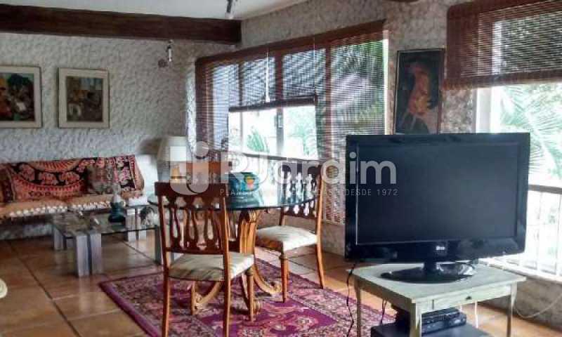 F SALA DE TV - Casa Rua Engenheiro Alfredo Duarte,Jardim Botânico, Zona Sul,Rio de Janeiro, RJ Para Alugar, 4 Quartos, 530m² - LACA40051 - 9