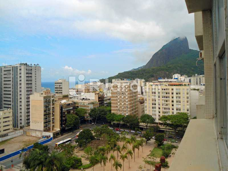 vista apto - Apartamento À Venda - Leblon - Rio de Janeiro - RJ - LAAP10399 - 1