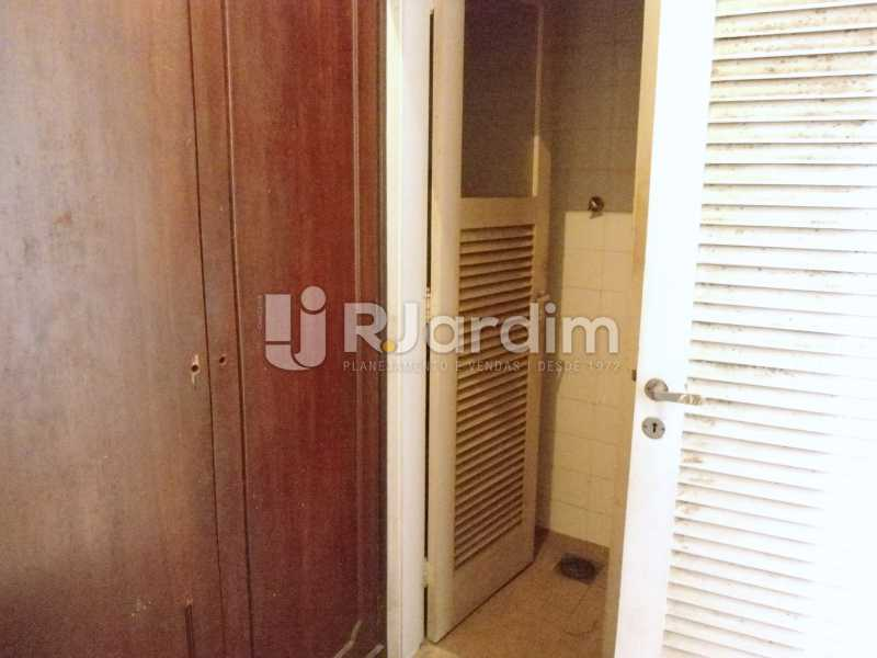 quarto serviço - Apartamento À Venda - Leblon - Rio de Janeiro - RJ - LAAP10399 - 18