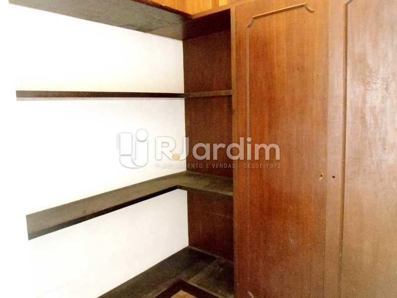 quarto serviço - Apartamento À Venda - Leblon - Rio de Janeiro - RJ - LAAP10399 - 17