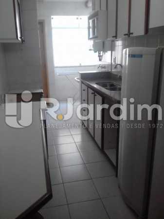 Cozinha planejada - Apartamento Leblon, Zona Sul,Rio de Janeiro, RJ À Venda, 3 Quartos, 106m² - LAAP32256 - 20