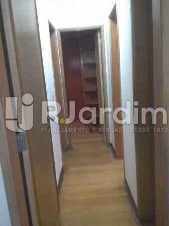 Corredor - Apartamento Leblon, Zona Sul,Rio de Janeiro, RJ À Venda, 3 Quartos, 106m² - LAAP32256 - 14